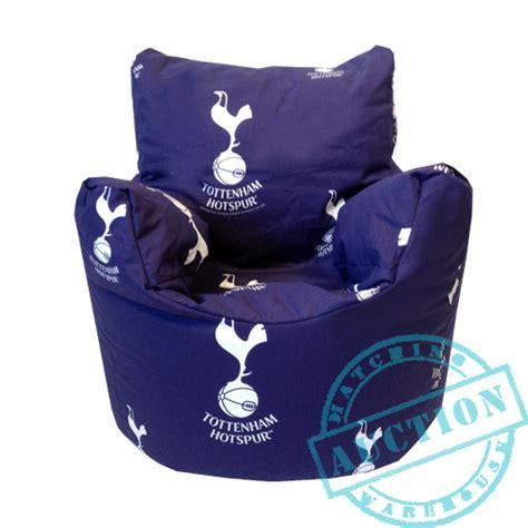 chelsea fc bean bag chair tottenham fc football club children s bean bag chair