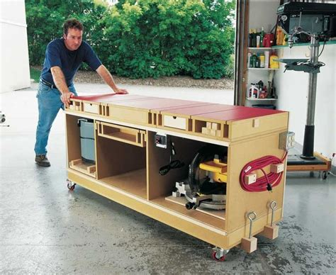 rolling work bench plans best 20 mobile workbench ideas on pinterest