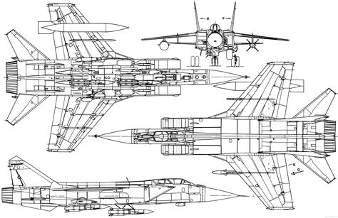 make blueprints mikoyan mig 31 blueprint download free blueprint for 3d