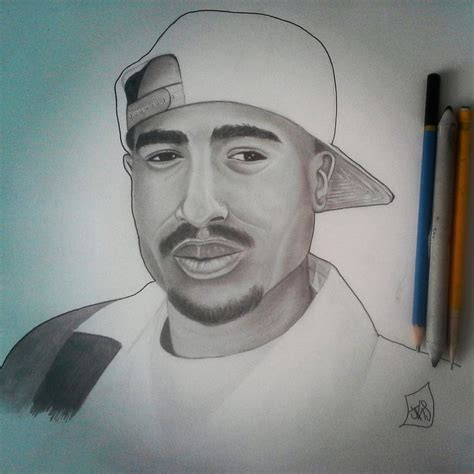 2pac Sketches by 2pac Sketch By Jay3681 On Deviantart