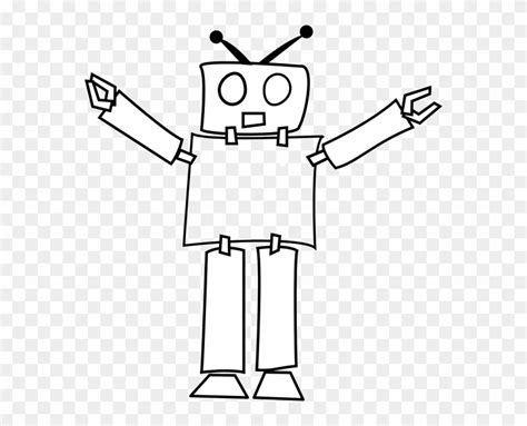 robot coloring png  robot coloringpng transparent