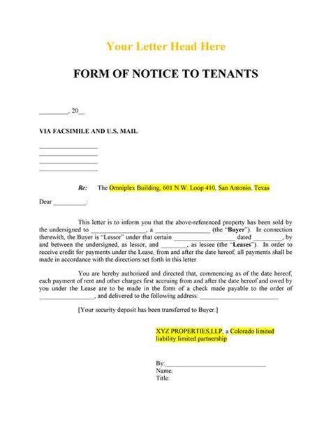 24 hour notice landlord tenant tenant screening download pdf