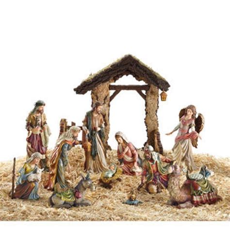 kirkland signature nativity set hand painted and 50