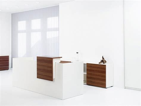 the basic white reception desk urban office furniture
