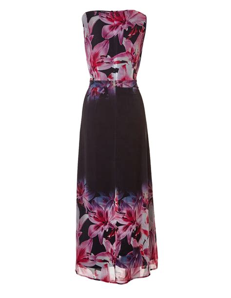 maxi black cleo black floral maxi dress cleo