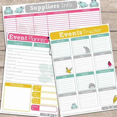 free printable business planner pages printable 42 page business planner by alexia claire