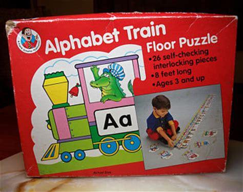 Abc Floor Puzzle by Alphabet Etsy