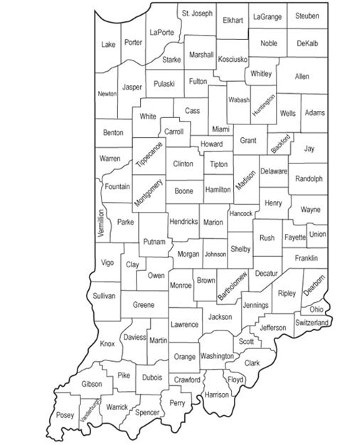Number Search Indiana Ocra Mapping Cdbg By County