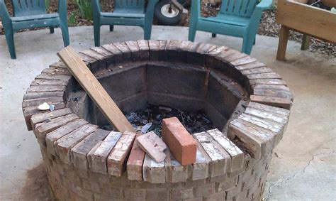 Firepit Liner Pit Liner Ideas Pit Design Ideas