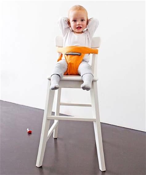 seggiolino da tavola minichair arancio seggiolino da tavola bambini portatile