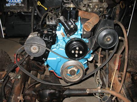 Jeep Cj7 4 2 Engine Serpentine Belt Pulley Question With Pictures Jeep Cj Forums