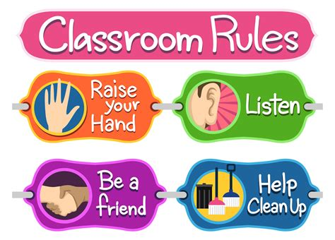 printable poster classroom rules classroom posters the universal tool for educational and