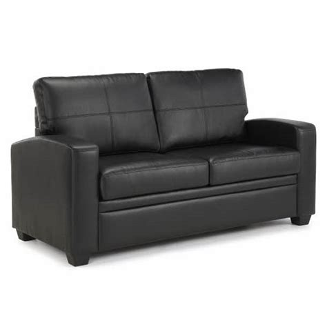Black Leather Sofas Cheap Buy Cheap Black Faux Leather Sofa Compare Sofas Prices For Best Uk Deals