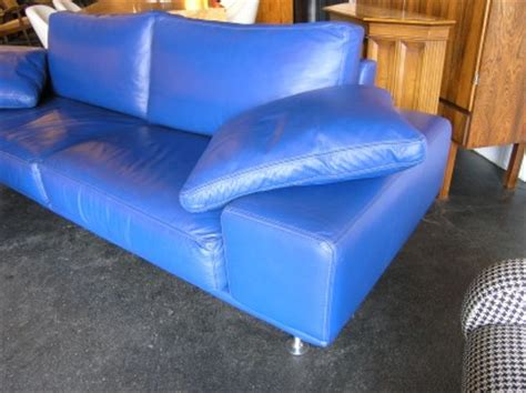 Blue Italian Leather Sofa Machine Age New S Largest Selection Of Mid 20th Century Modern Furniture Italian