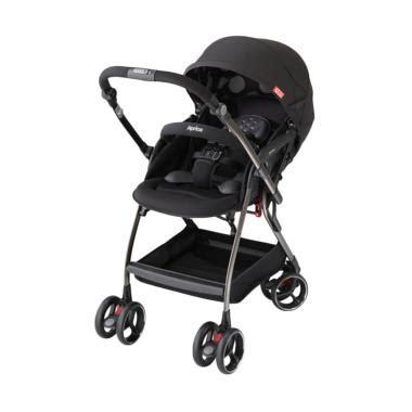 Kereta Dorong Bayi Daerah jual aprica optia stroller kereta dorong bayi black