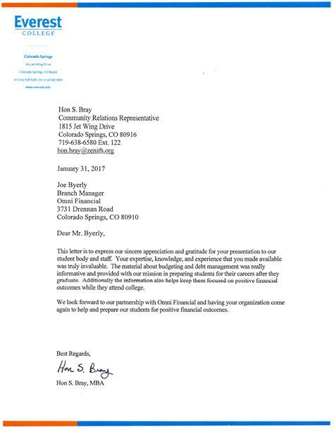 appreciation letter ppt accolades archive omni financial