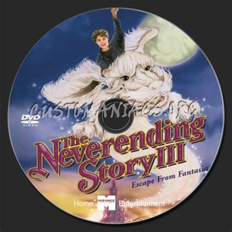 Label Story 3 the neverending story iii dvd label dvd covers labels