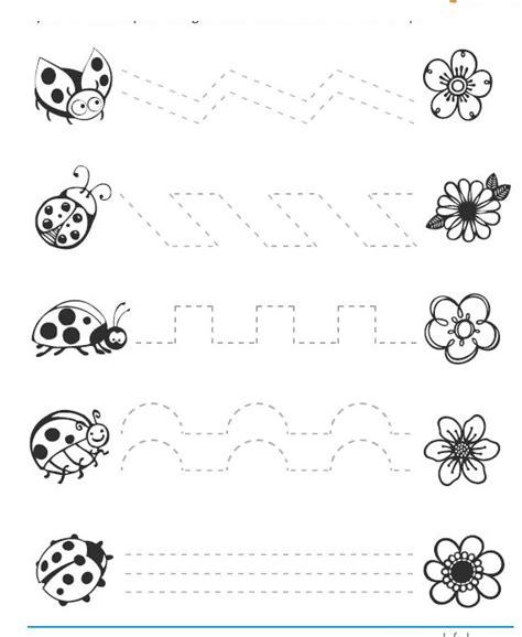 ladybug pattern for kindergarten free ladybug trace worksheets crafts and worksheets for