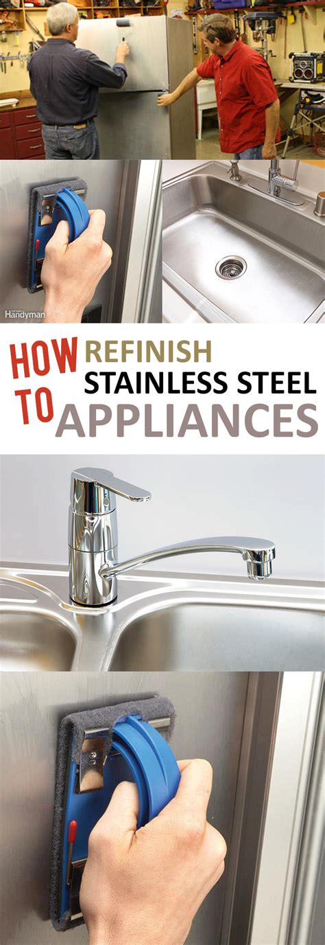 refinish stainless steel sink how to remove spray paint from stainless steel how to