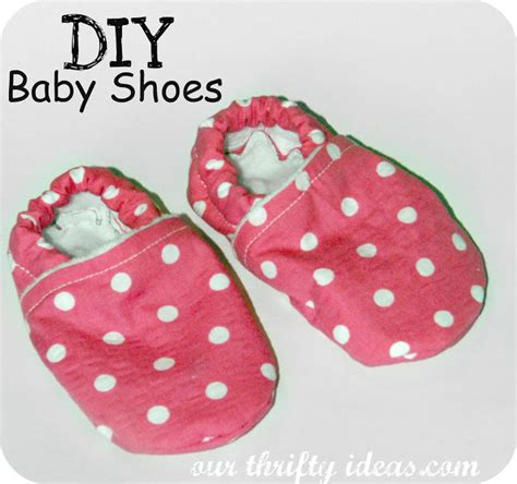 diy toddler shoes diy baby shoes our thrifty ideas