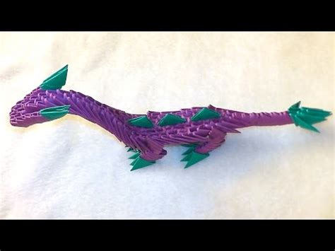 3d origami hawk tutorial 3d origami dragon dinosaur tutorial