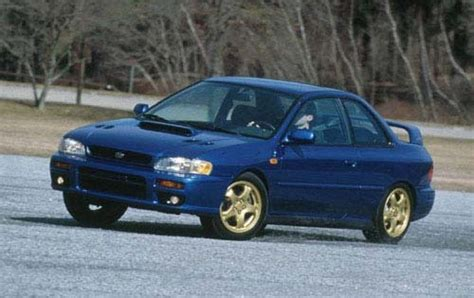 subaru coupe rs 1998 subaru impreza information and photos zombiedrive