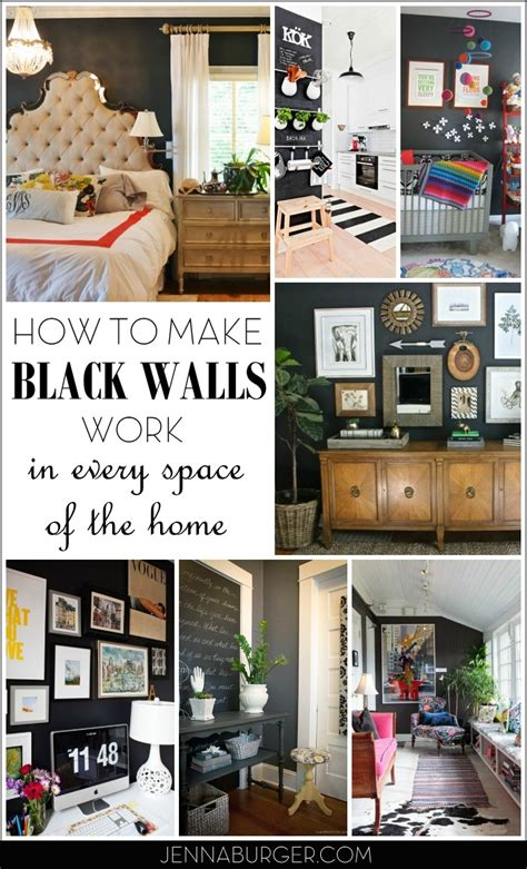 why dark walls work in small spaces design sponge how to make black walls work jenna burger