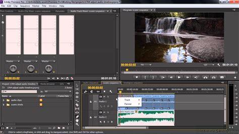 youtube tutorial adobe premiere pro cc adobe premiere pro cc tutorial adjusting audio volume