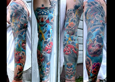 Tattos Am Arm 5894 by Wwii Sleeve Stuff For