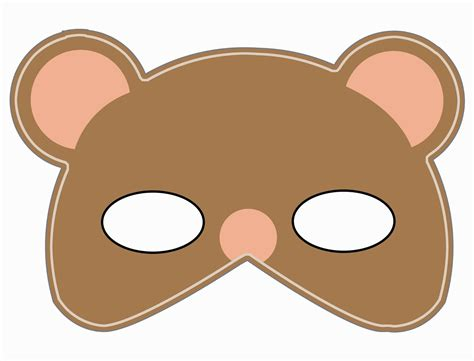 lomy design teddy bear mask