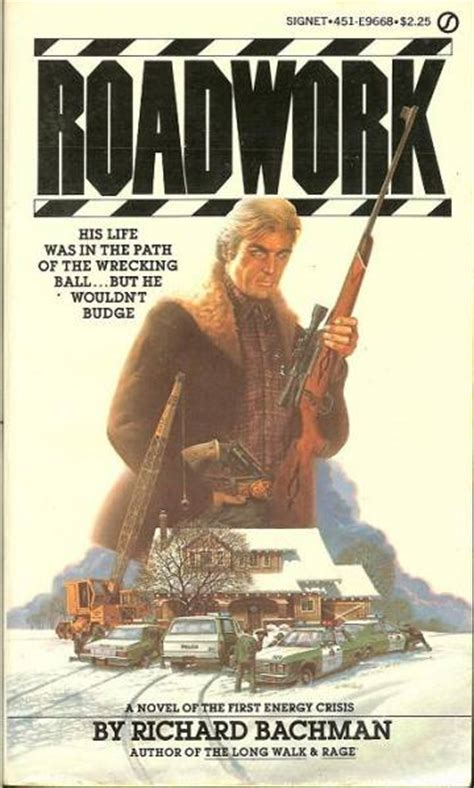 roadwork a novel books sharp pencil stephen king roadwork as richard bachman