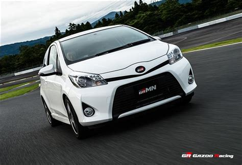 toyota yaris turbo toyota yaris turbo hatch launched in japan photos 1 of 13