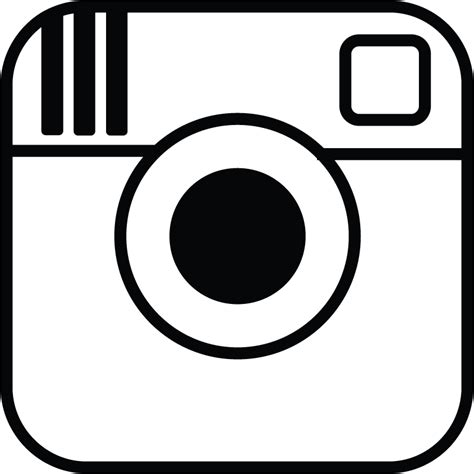 instagram logo coloring pages the gallery for gt instagram button transparent background