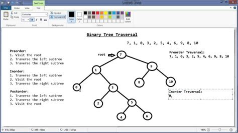 binary search tree traversal part 1 preorder inorder