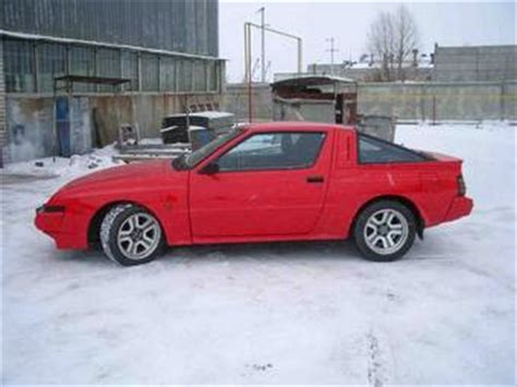 mitsubishi starion photos news reviews specs car listings