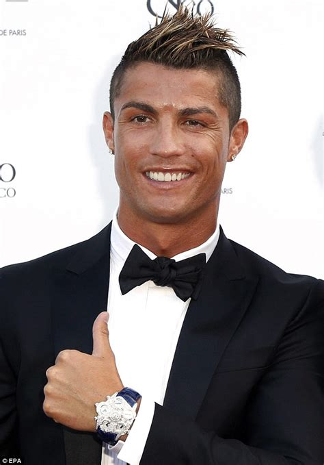 cristiano ronaldo hairline should cristiano ronaldo be taking a shot at his hair loss
