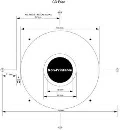 Cd Dimensions Template by Cd Disc Templates For Duplication And Replication