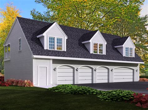 Apartment Garage Plans From Design Connection Llc House Plans Garage Plans