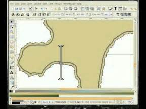 inkscape tutorial intermediate inkscape tutorial how to draw an island in inkscape