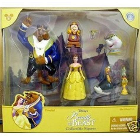 l a beast figure and the beast figures playset set of 7 figures