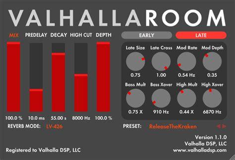 Valhalla Room products valhalla dsp