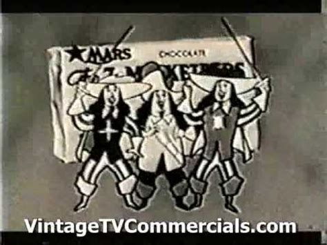 1960's 3 musketeers cartoon candy commercial youtube