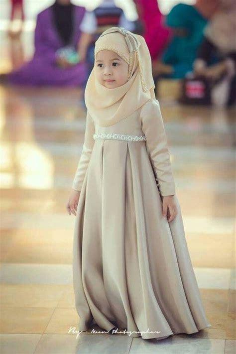 Dress Untuk Anak Perempuan koleksi model dress muslim terbaru incaran para hijabers