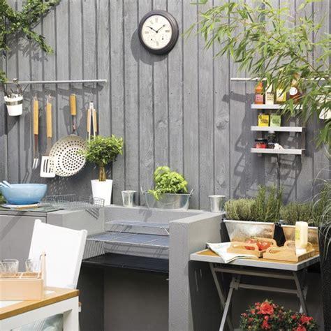 garden kitchen ideas garden kitchen with barbecue easy garden transformations