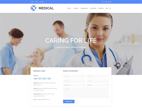 20 Best Directory Wordpress Themes 2018 Colorlib Doctor Website Templates