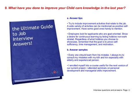 top 9 child care questions answers