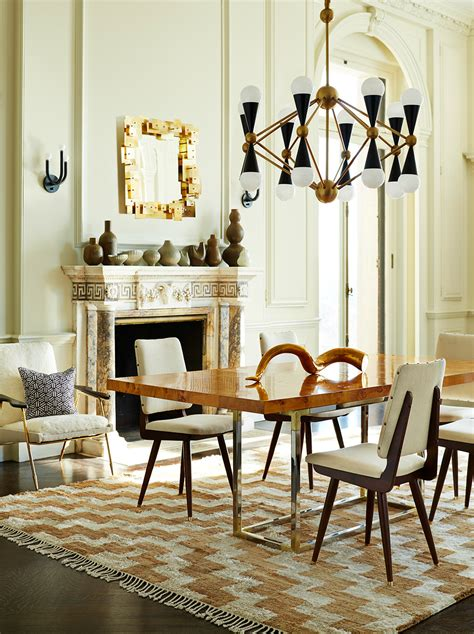 beautiful neutral dining room rugs    covet