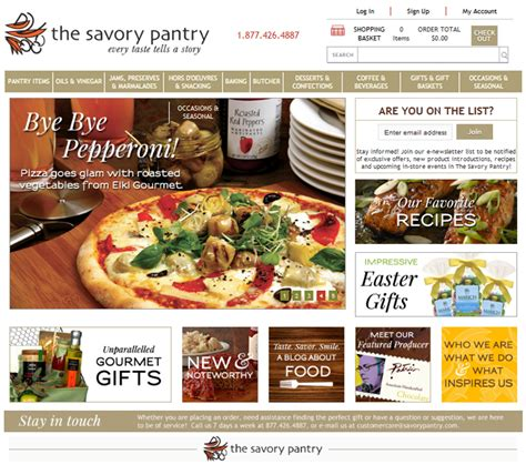 Savory Pantry by One Page Portfolio The Artwork Of Joby Miller