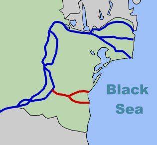 danube black sea canal sees tourist cruises