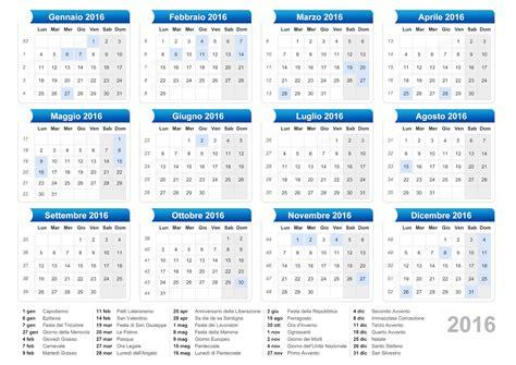 Calendario Giorni Festivi Italia 2016 Calendario Giugno 2016 Con Giorno Calendar